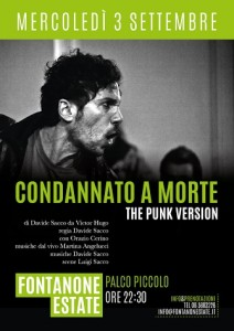 Stand Amnesty @ CONDANNATO A MORTE-The Punk Version @ FontanonEstate | Roma | Lazio | Italia