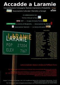 Accadde a Laramie - spettacololettura per 45 attori @ Auditorium Vittorio Foa | Formia | Lazio | Italia