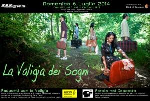 La valigia dei sogni. @ Castello dei Conti di Ceccano (FR)