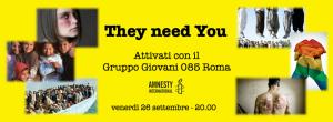 Diritti di uno, Diritti di tutti: unisciti al Gruppo Giovani @ Roma @ Roma Termini