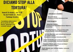 Amnesty Roma Boccea dice STOP ALLA TORTURA @ Fandango INCONTRO | Roma | Lazio | Italia