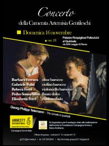 Concerto di Musica Barocca a Palazzo Rospigliosi @ Palazzo Rospigliosi | Roma | Lazio | Italia