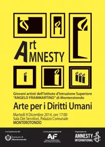 ART AMNESTY - Arte per i Diritti Umani @ Palazzo Comunale di Monterotondo | Monterotondo | Lazio | Italia