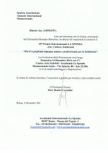 18° Premio Internazionale LA SPONDA Arte, Cultura, Solidarietà @ Accademia La Sponda, Monterotondo Scalo | Lazio | Italia