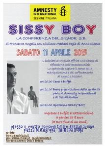 SISSY BOY @ Ostia (RM) @ Centro Affabulazione | Lido di Ostia | Lazio | Italia