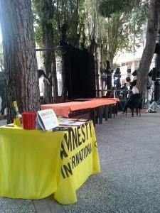 Amnesty @ Teatri d'Arte Mediterranei di Formia @ Pinetina Ginillat - Mola | Formia | Lazio | Italia