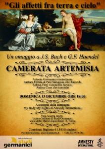 Concerto Musica Barocca a sostegno di Amnesty @ Roma @ Villa Sciarra Wurts | Roma | Lazio | Italia