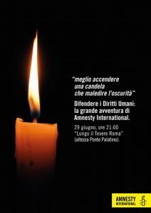 Difendere i Diritti Umani: la grande avventura di Amnesty International @ Lungo il Tevere Roma | Roma | Lazio | Italia