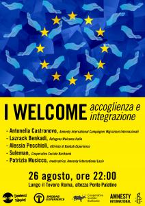 I WELCOME: accoglienza e integrazione @ Lungo il Tevere Roma | Roma | Lazio | Italia