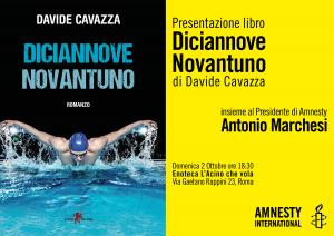 Diciannove Novantuno: sport e diritti umani di Davide Cavazza @ Enoteca l'Acino che vola   Roma   Lazio   Italia