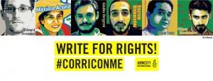 Write4Rights 2016 - Maratona dei Diritti a Civitavecchia @ Locali dell'associazione Ri-Me   Civitavecchia   Lazio   Italia