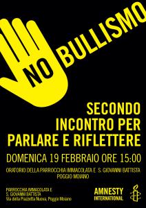 NO BULLISMO, secondo incontro per parlare e riflettere @ PARROCCHIA IMMACOLATA E  S. GIOVANNI BATTISTA